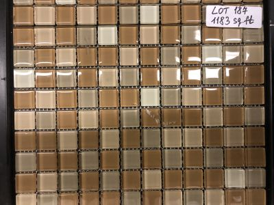 beige glass Graduation Mix Beige #2 by mytile