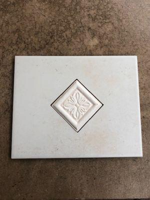 white, beige ceramic ALFA SMIRNE BIANCO by alfa