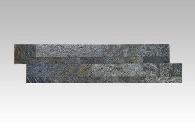 black, gold, gray slate Stacking Stone Tile   Black Star Gold