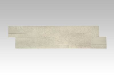 white, beige slate Stacking Stone Tile | Mint