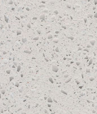 white, beige, gray engineered CLASSIC ICE QUARTZ by technistone