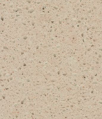 tan, beige engineered CRYSTAL CREME BEIGE QUARTZ by technistone