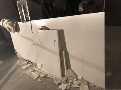 white marble White marble slab