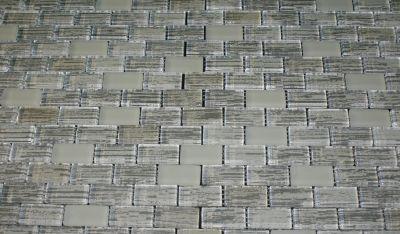 white glass Textile White 1x2