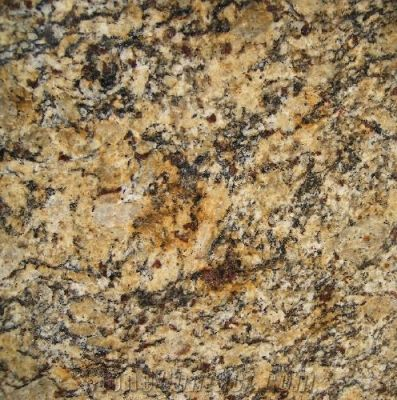brown, orange granite Giallo Portofino