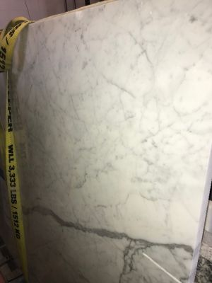 gray, white marble White Carrara