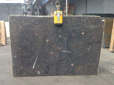 black marble FOSSIL BLACK
