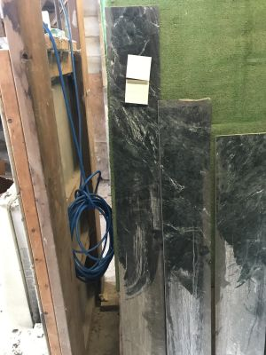 green marble Header