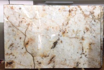 brown, gold, orange, white, yellow, beige quartzite Cristallo Extra