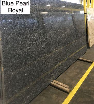 blue granite Blue Pearl Royal