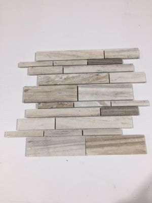 gray, tan, white, beige ceramic Skyline by skyline mosaic
