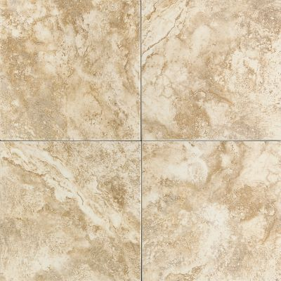 tan, white ceramic Builder Select Kingsborough Light Gold by daltile