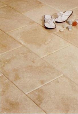 brown, tan marble Tivoli Cream Brushed Marble Tiles