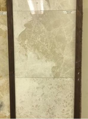 tan, white marble Corsica Cream Polished Marble Tiles