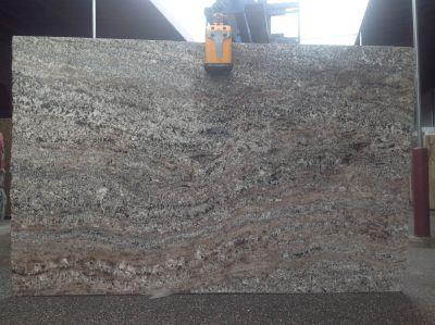 gray, tan, white granite CHATEAU WHITE