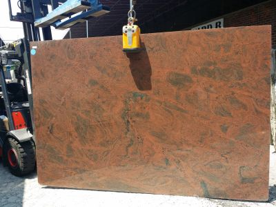 black, brown, red granite MULTI RED