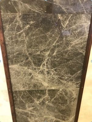 black, brown, green marble Black Olive Marble Tiles