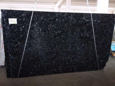 black, blue, green granite VOLGA BLUE LEATHER
