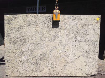 black, white, beige granite WHITE EQUADOR