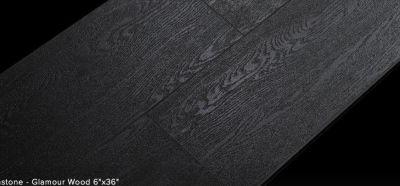 black porcelain Glamour Wood by diastone