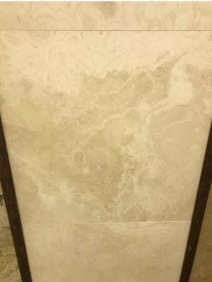 tan marble Travertine Extra Light Filled Marble  Tile