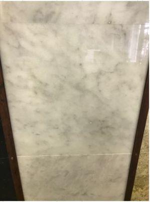 """gray, white marble White Carrara Marble Tiles 5/8"""" Thick"""