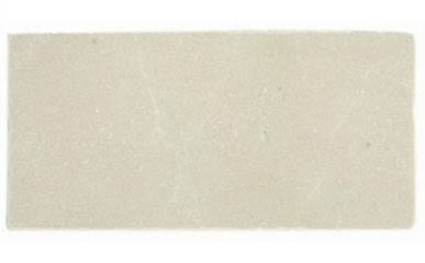 tan, white marble Lotus Crema Tumbled Marble Tile