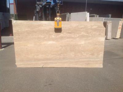 beige limestone NOCE HONED VEIN CUT