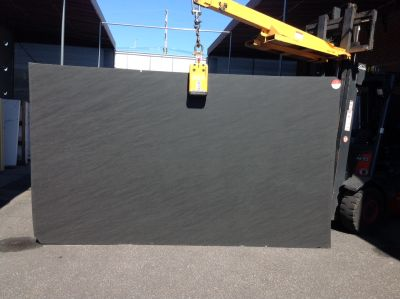 black quartzite IPANEMIA BLACK K PROOF SATIN