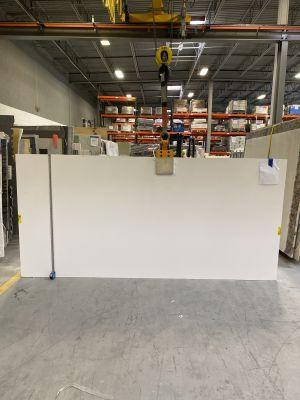 white engineered Pure White
