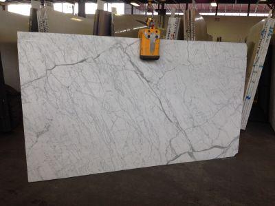 gray, white marble STATUARIETTO