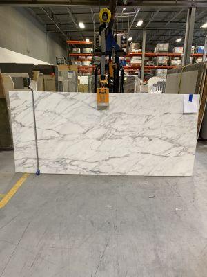 gray, white marble Calacatta Tucci