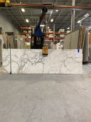 gray, white, beige marble Calacatta Gold