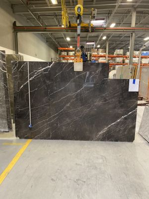 black, white marble Nero Gold