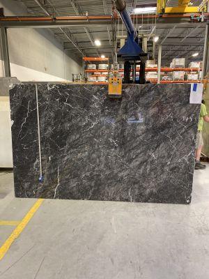 black, gray, white marble Grigio Carnico