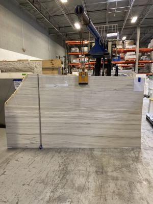 gray, white, beige marble Bianca Linear Marble