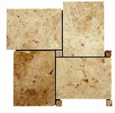 brown, tan marble Bahamas Cappuccino Polished Marble Tiles