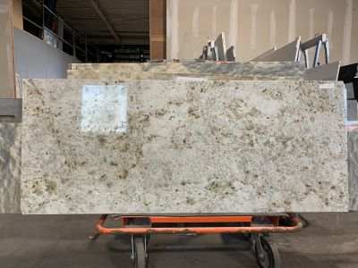 gold granite Colonial Gold by stone trash