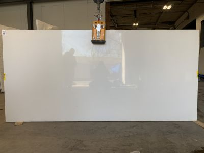 white quartz Miami White by silestone