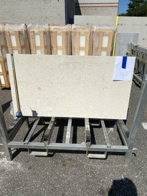 white, beige limestone Limestone