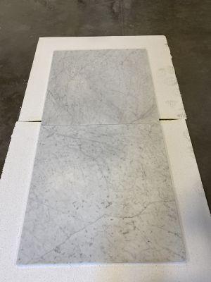 gray, white marble White Carrara