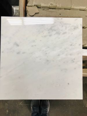 gray, white marble WHITE CARRARA by polished marble