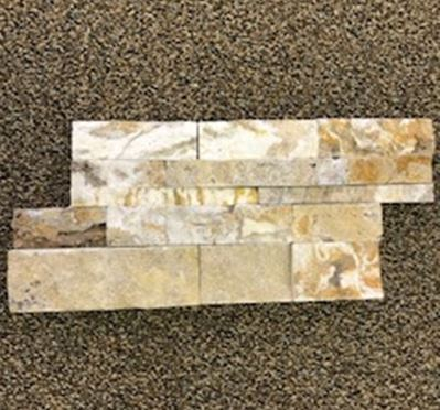 brown, tanLedge Stone Scabos Split-Face Wall Panels Marble Wall Tiles