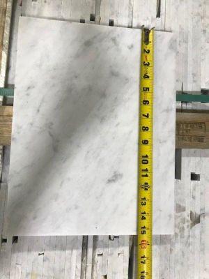 "gray, white marble Bianco White Carrara, random lengths 15""-31"" x 12"" width by italy"