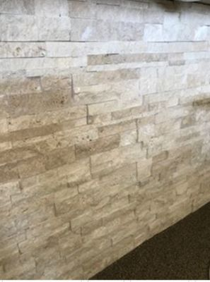 tan, whiteLedge Stone Classic Travertine Wall Panels Marble Wall Tile