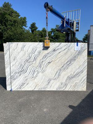gray, white marble Classic White Quartzite
