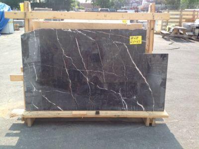 black, gray, purple marble St. Laurent