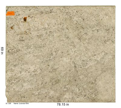 black, tan, white, beige granite Colonial White