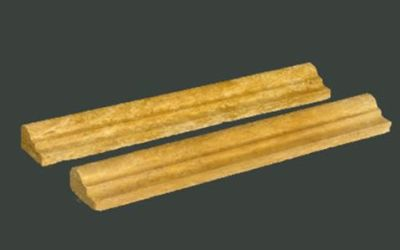gold, tan, yellow marble Gold Ogee Molding Marble Tiles