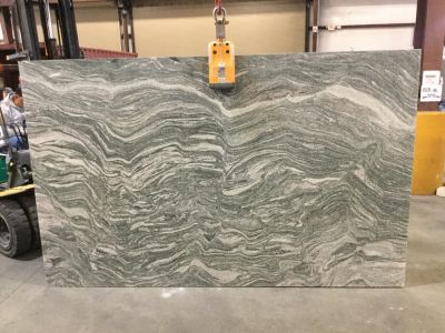 gray, white granite Viscont White Leathered/Polished